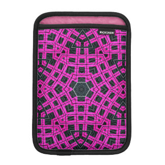 Pink Black Abstract Sleeve For iPad Mini