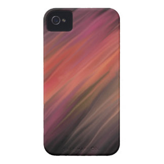Pink, black abstract iPhone 4 cover