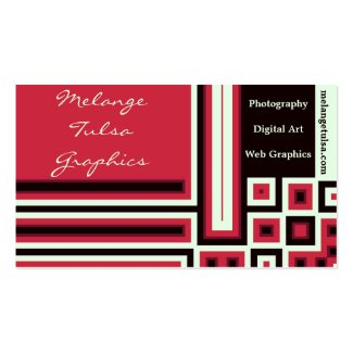Pink, Black and Light Green Block Business Cards Business Card Templates