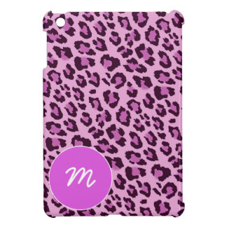 Pink, Black and Purple Leopard Skin Case For The iPad Mini