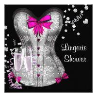 pink black corset lingerie