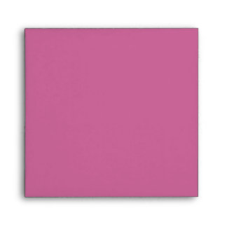 Pink Black Damask Envelope
