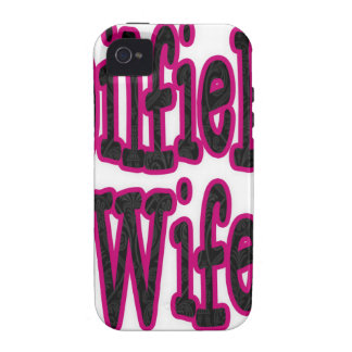 Pink/Black Damask Oilfield Wife iPhone 4/4S Covers