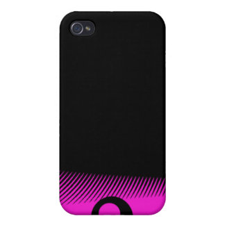 Pink Black Dazing Print iPhone 4/4S Cover