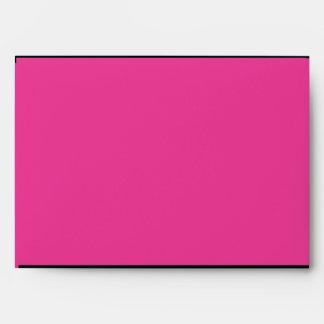Pink & Black elegant envelopes