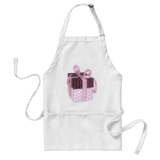 Pink & Black Gift Apron