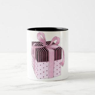 Pink & Black Gift Mug