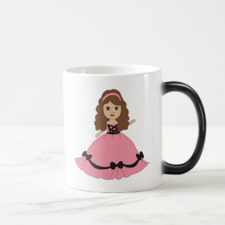 Pink & Black Gown Princess 1 11 Oz Magic Heat Color-Changing Coffee Mug