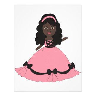 Pink & Black Gown Princess 3 Custom Flyer