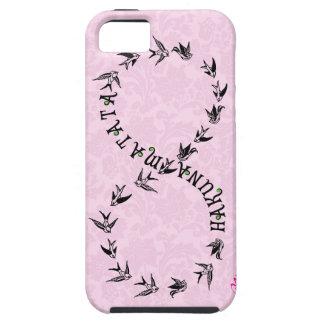 Pink & Black Hakuna Matata Infinity Symbol iPhone SE/5/5s Case