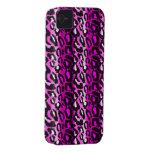Pink & Black Leopard iPhone 4 Case
