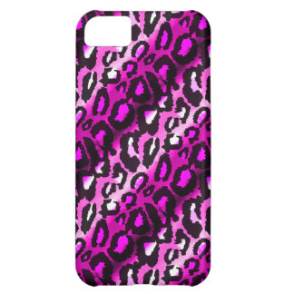 Pink & Black Leopard iPhone 5 Case