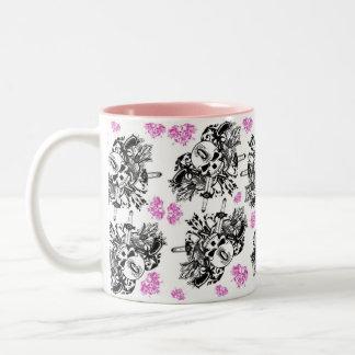 Pink & Black O'Kane Logo Mug