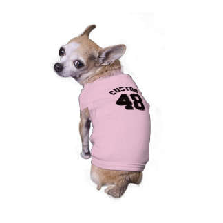 Pink & Black Pets | Dog Sports Jersey Design Shirt
