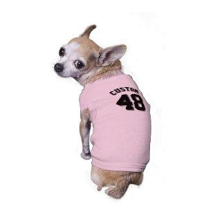 Pink & Black Pets | Dog Sports Jersey Design Shirt