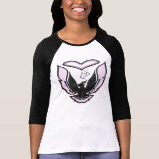 Pink & Black Racing Heart Shirts