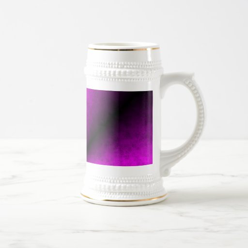 Pink black rainbow mug