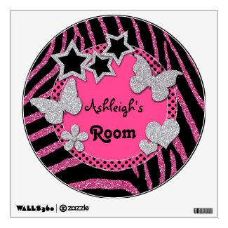 Best Personalized Pink Wall Decal Sticker
