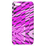 Pink Black Wave Shatter iPhone 4 Case