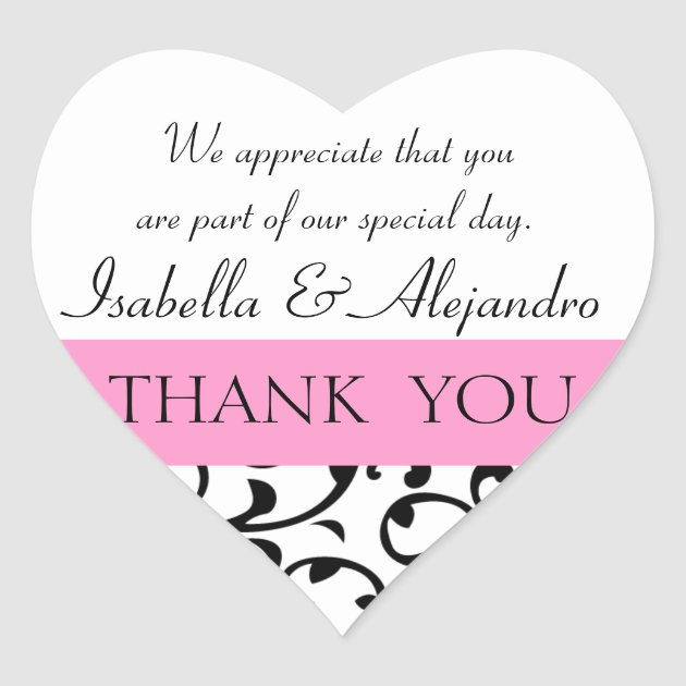 Wedding Thank You Messages Gifts on Zazzle