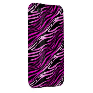 Pink & Black Zebra iPhone 3G Case iPhone 3 Covers
