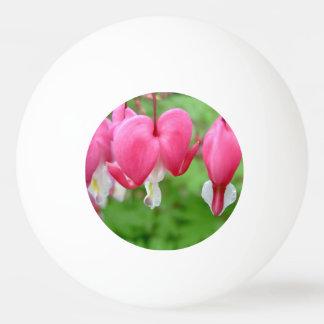 Pink Bleeding Heart Ping-Pong Ball