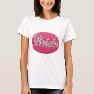 Pink Bling Bride T-Shirt