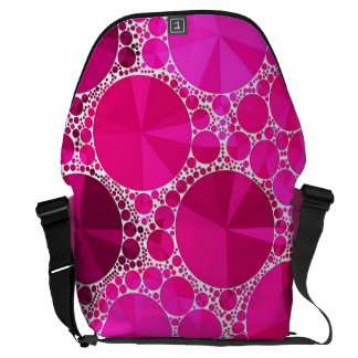 Pink Bling Courier Bag