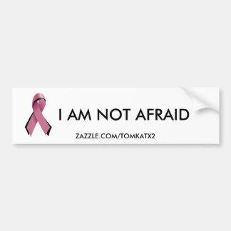 Pink/Blk Ribbon,Bumper Sticker Car Bumper Sticker