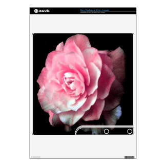 Pink Bloom PS3 Slim Decal