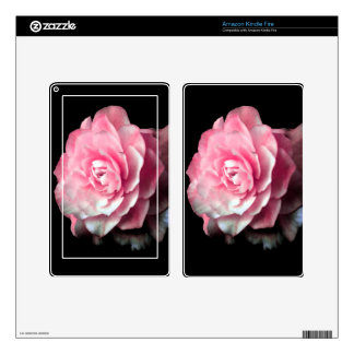 Pink Bloom Skin For Kindle Fire