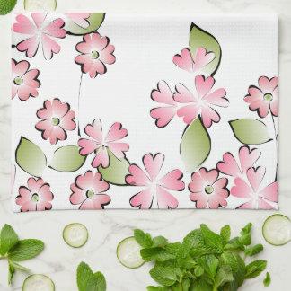Pink Blooms Towel