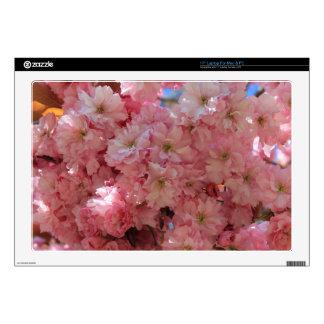 "Pink blossom  17"" laptop skin"