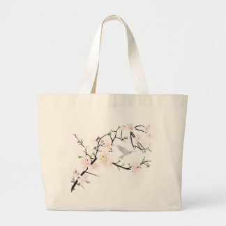 Pink Blossom Bird Bag