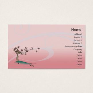 Pink Blossom - Business Business Card