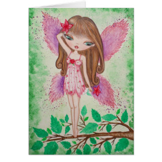 """""""Pink Blossom"""" Greeting Card"""