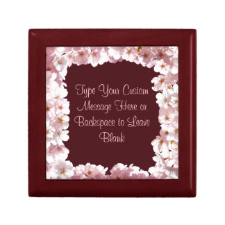 Pink Blossom Gift Box Personalized Flower Boxes