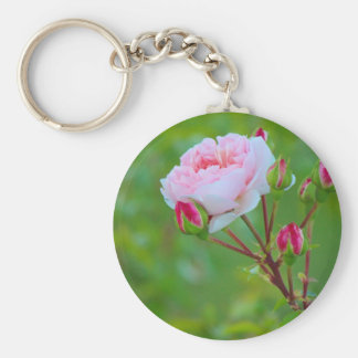 Pink blossom keychain