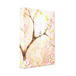Pink Blossom View Canvas Canvas Print