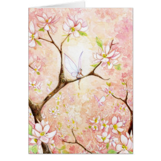 Pink Blossom View Card