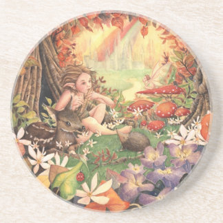 Pink Blossom View Coaster
