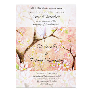 """Pink Blossom View"" Invitation"