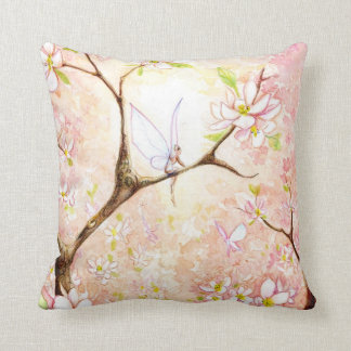 """Pink Blossom View"" Pillow"