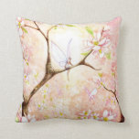 """""""Pink Blossom View"""" Pillow"""