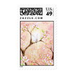 Pink Blossom View Postage