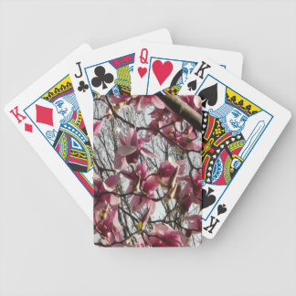 Pink Blossoms Bicycle Playing Cards