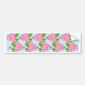 Pink Blossoms Bumper Sticker