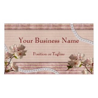 Pink Blossoms Business Card