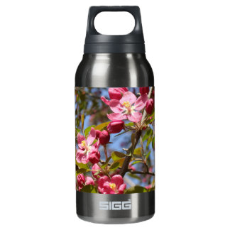 Pink Blossoms Insulated Water Bottle