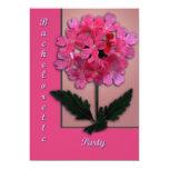 Pink Blossoms Invitations